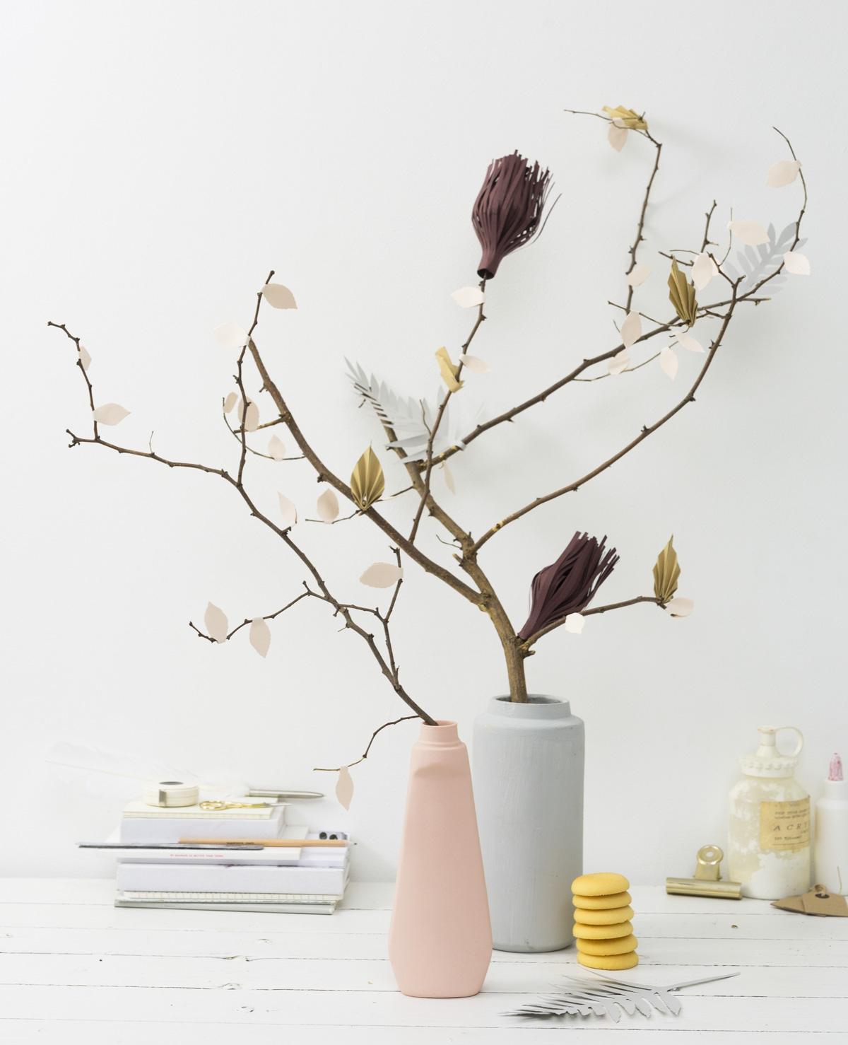 Zelfmaak – Papieren bloemen