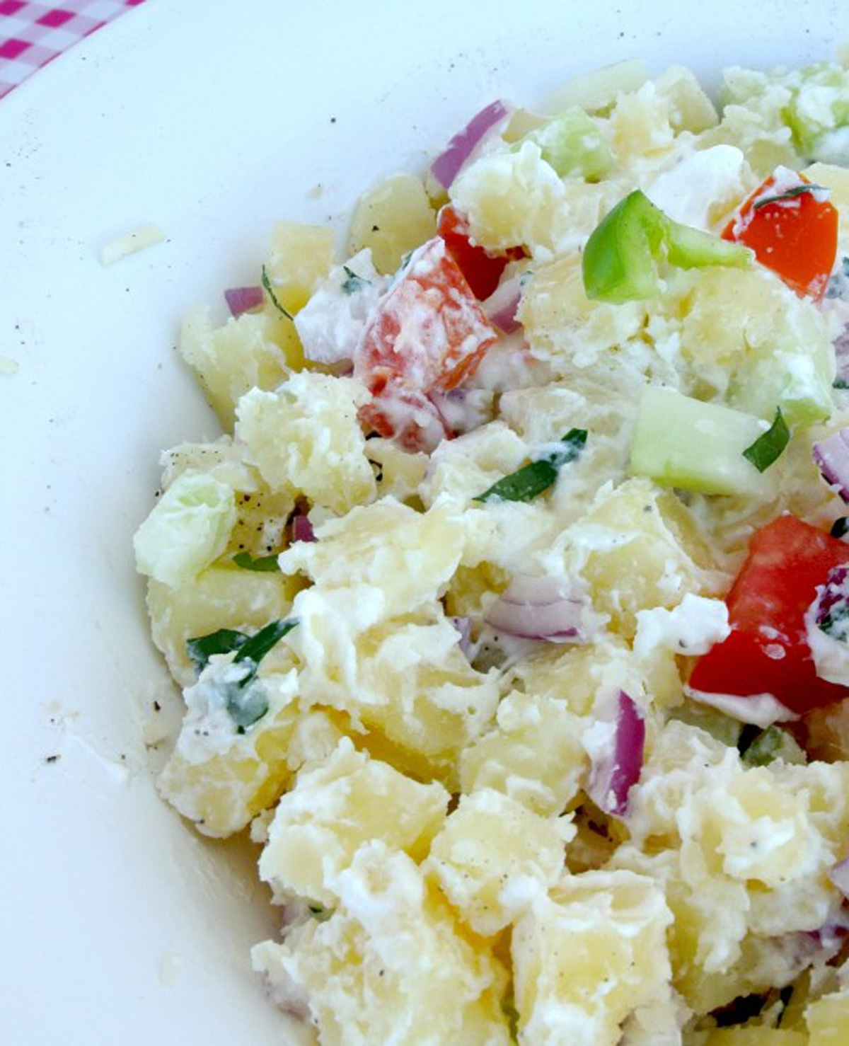 Recept: Mediterraanse aardappelsalade