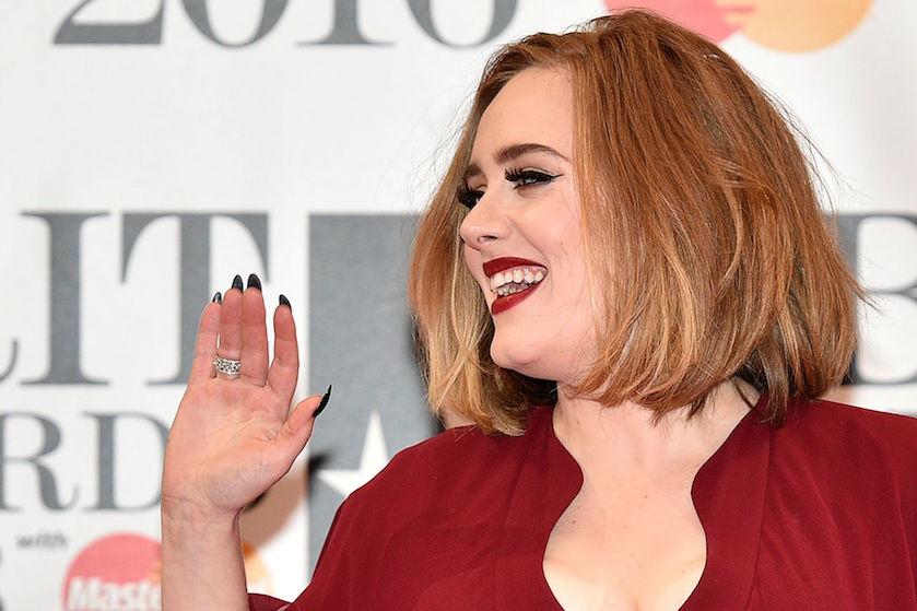 Hello from the studiooo: 'Adele werkt weer aan nieuw album'