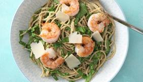 Recept: volkoren spaghetti met een saus van avocado