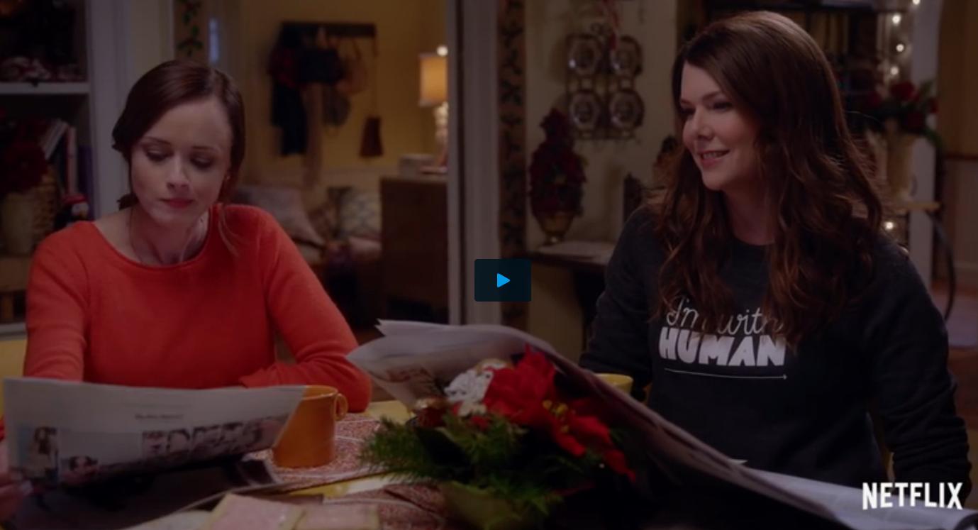Screenshot uit de trailer van Gilmore Girls