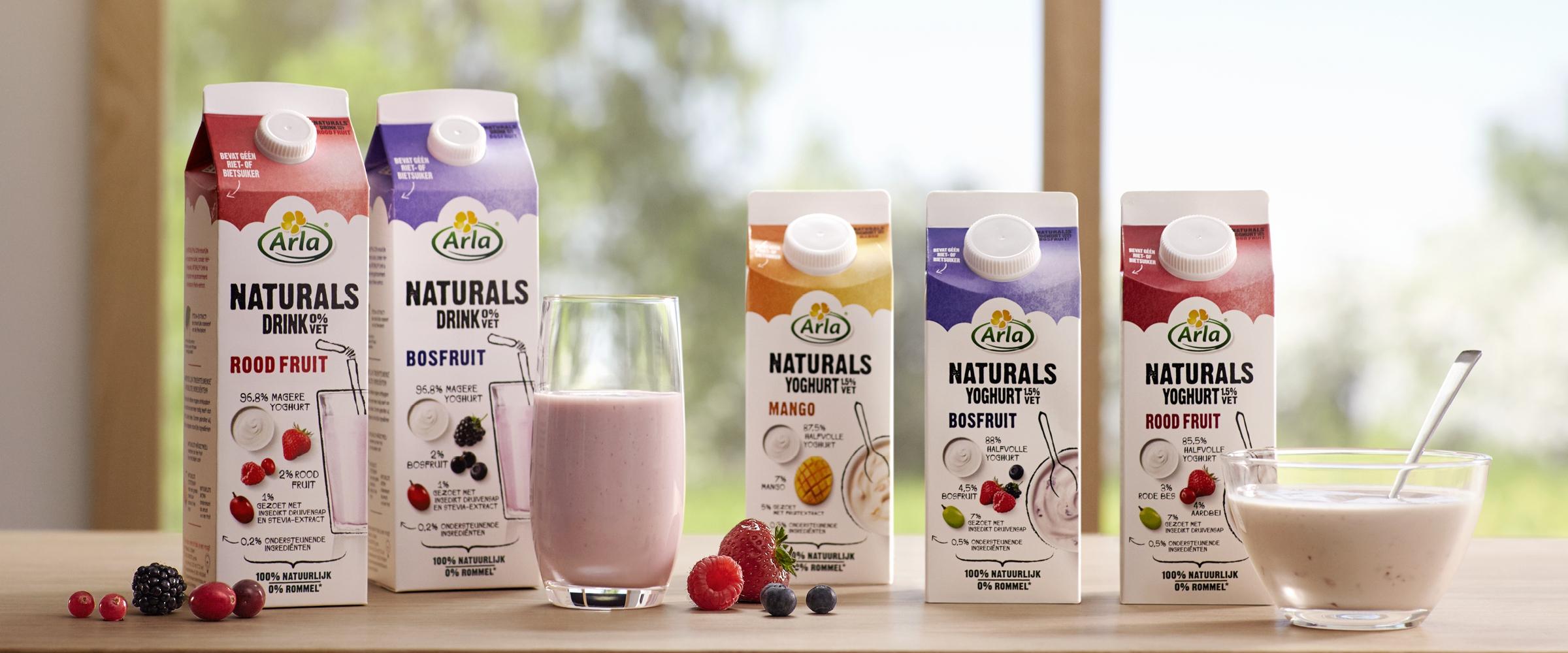 Win! Een jaar lang Arla naturals fruit- en drinkyoghurts