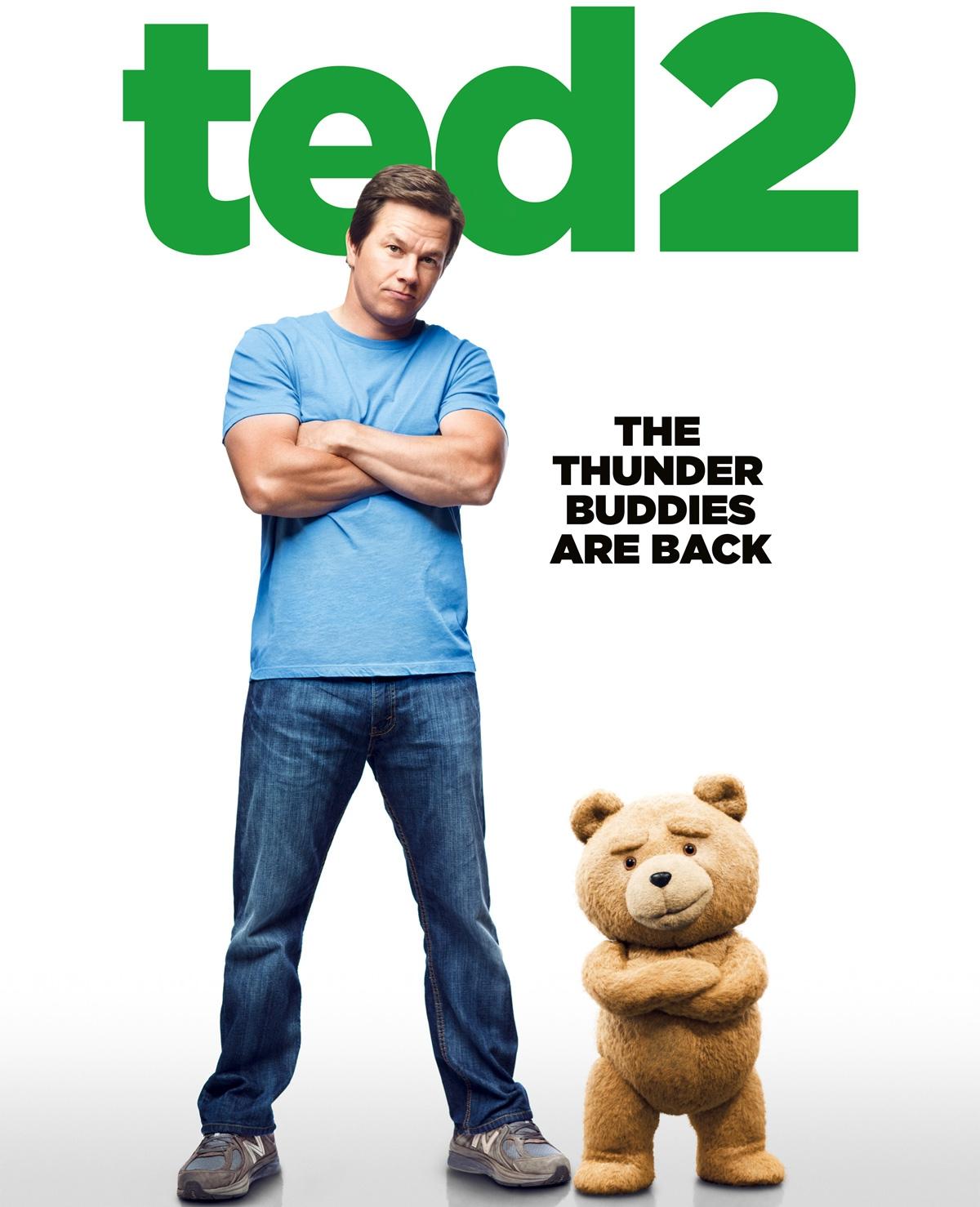 Win bioscoopkaarten voor Ted 2