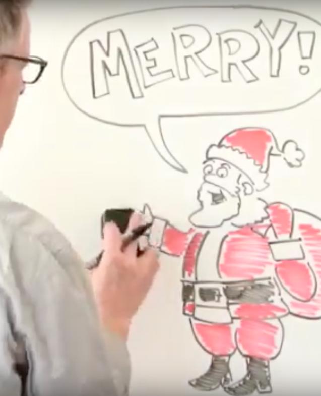 Waarom zeggen we 'merry' Christmas en geen 'happy'?