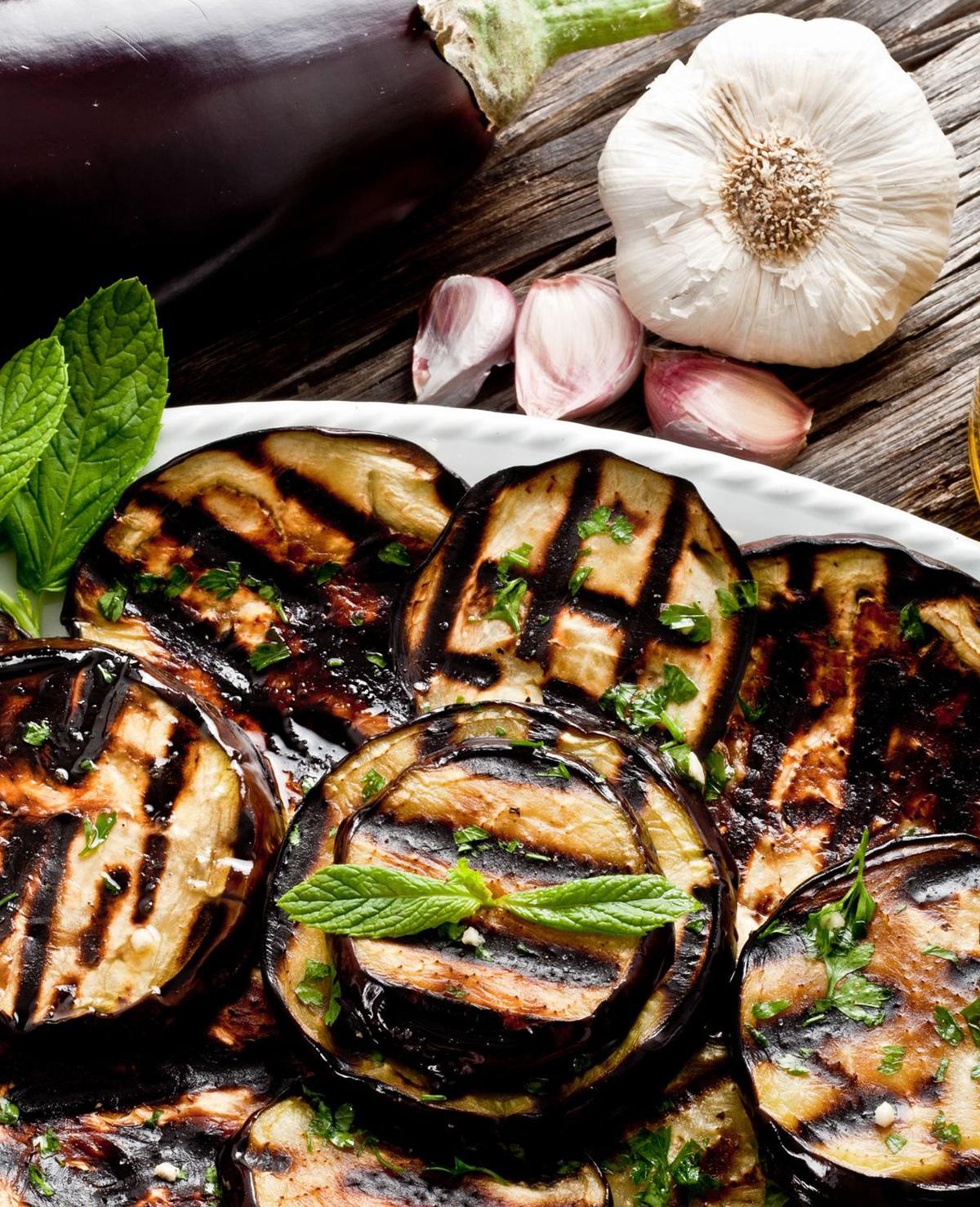 Aubergine perfect grillen