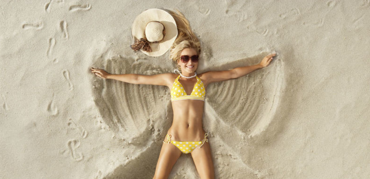 Zo zorg je dat je je slanker voelt op het strand