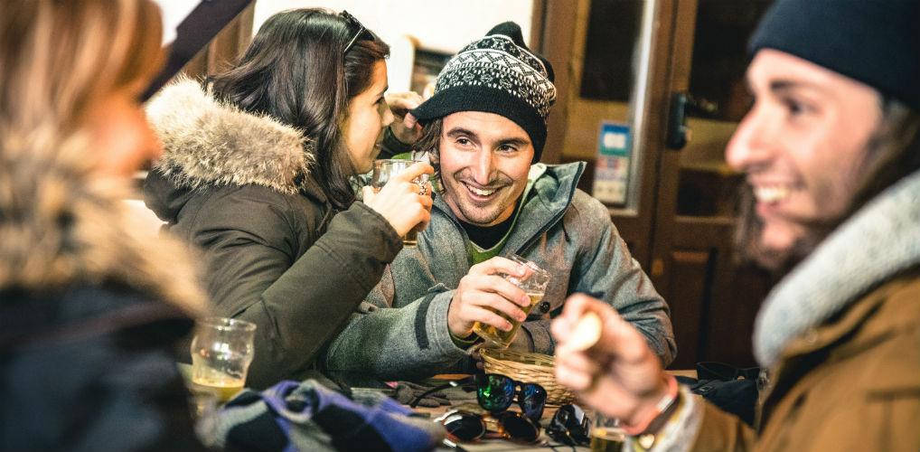 Lola over haar avontuur in de sneeuw: 'Hij was zo opgewonden dat hij bijna zijn ski-stokken uit de lift liet vallen.'