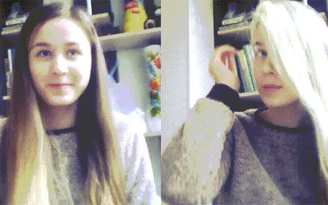 WOW: dit meisje verandert binnen 3 seconden van haarkleur