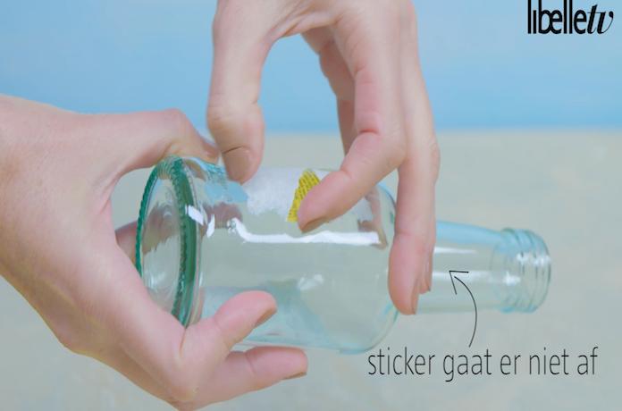 Life hack: zo verwijder je gemakkelijk een sticker!