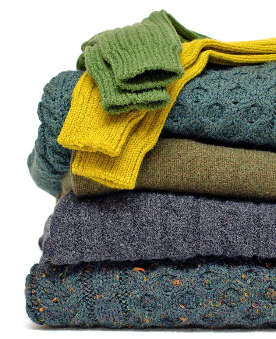 Maak van een oude trui een muts voor de winter