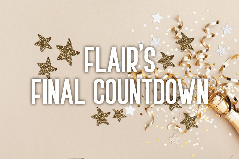 Out with a bang: win de mooiste prijzen voor een spetterend einde van 2020 in 'Flair's Final Countdown'