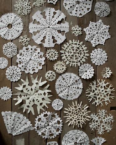 DIY | Sneeuwvlokken maken