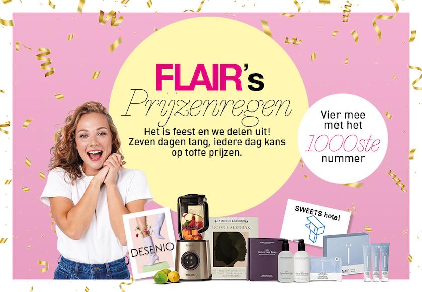 Het 1000e nummer van Flair: doe mee en win te gekke prijzen