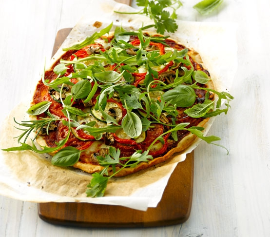 Recept Groentepizza