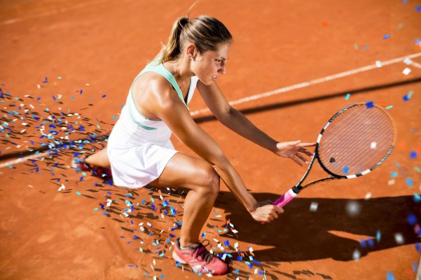 Tennis is het perfecte alternatief voor de sportschool