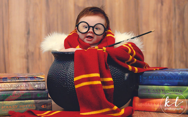 Deze Harry Potter baby-photoshoot is magisch schattig!
