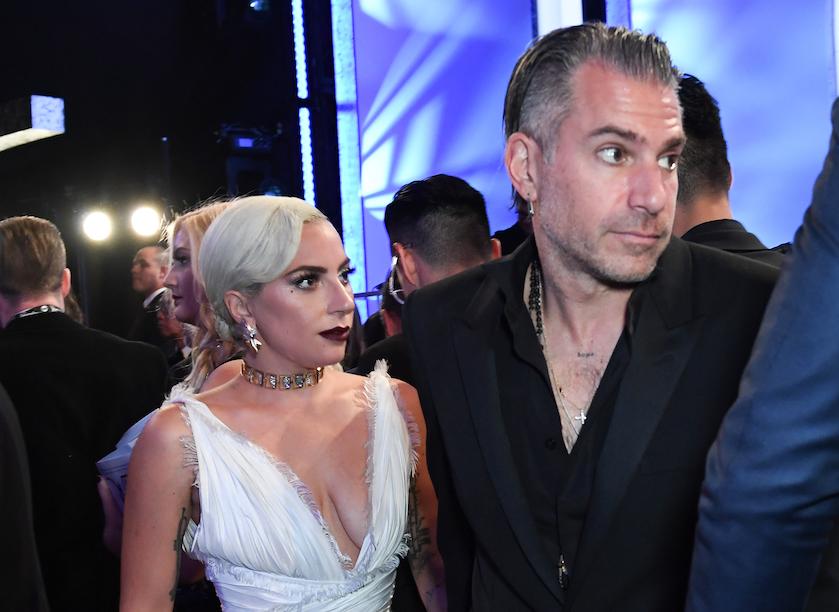 Gaga en Christian Carino ex