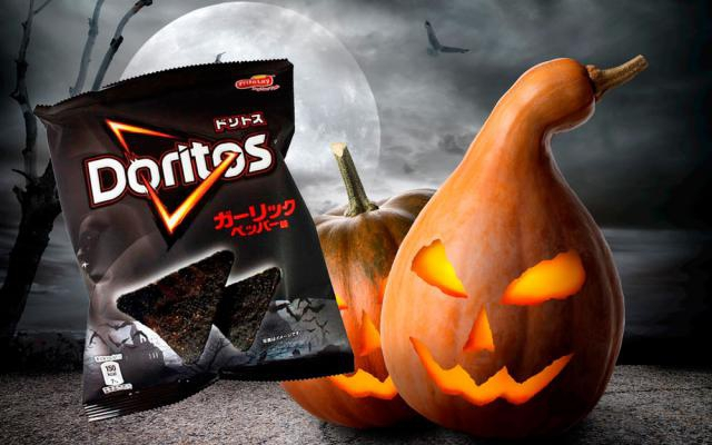 BRR: Doritos legt zwarte halloweenchips met knoflooksmaak in de rekken