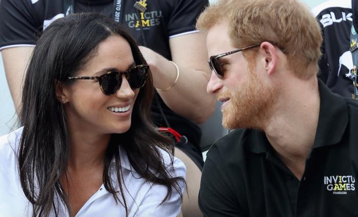 Eindelijk: Eerste foto's van prins Harry en Meghan in het openbaar