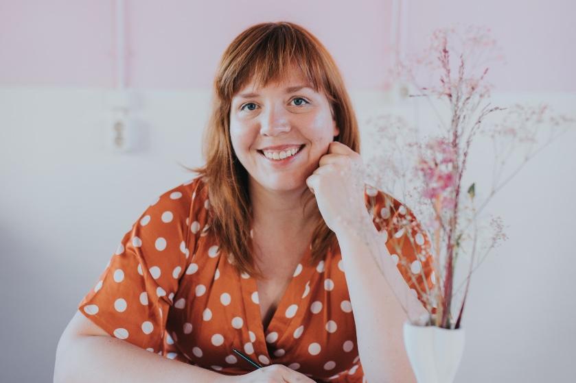 Marloes de Vries (36) is het brein achter Flair's strips: 'Toen Ashton Kutcher mijn werk reposte, was 't hek van de dam'