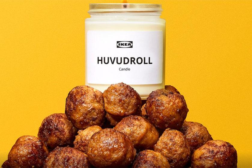 Deze Zweedse meubelgigant komt met geurkaars die ruikt naar gehaktballen