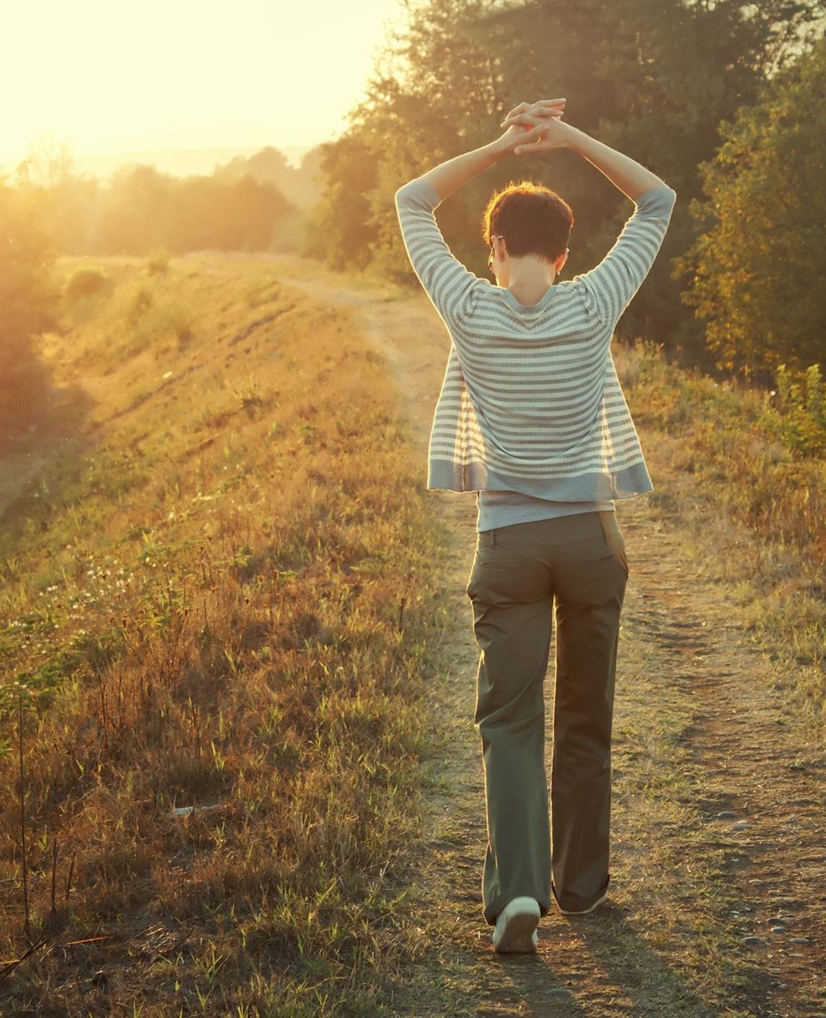 Ga naar buiten! De voordelen van wandelen op een rij