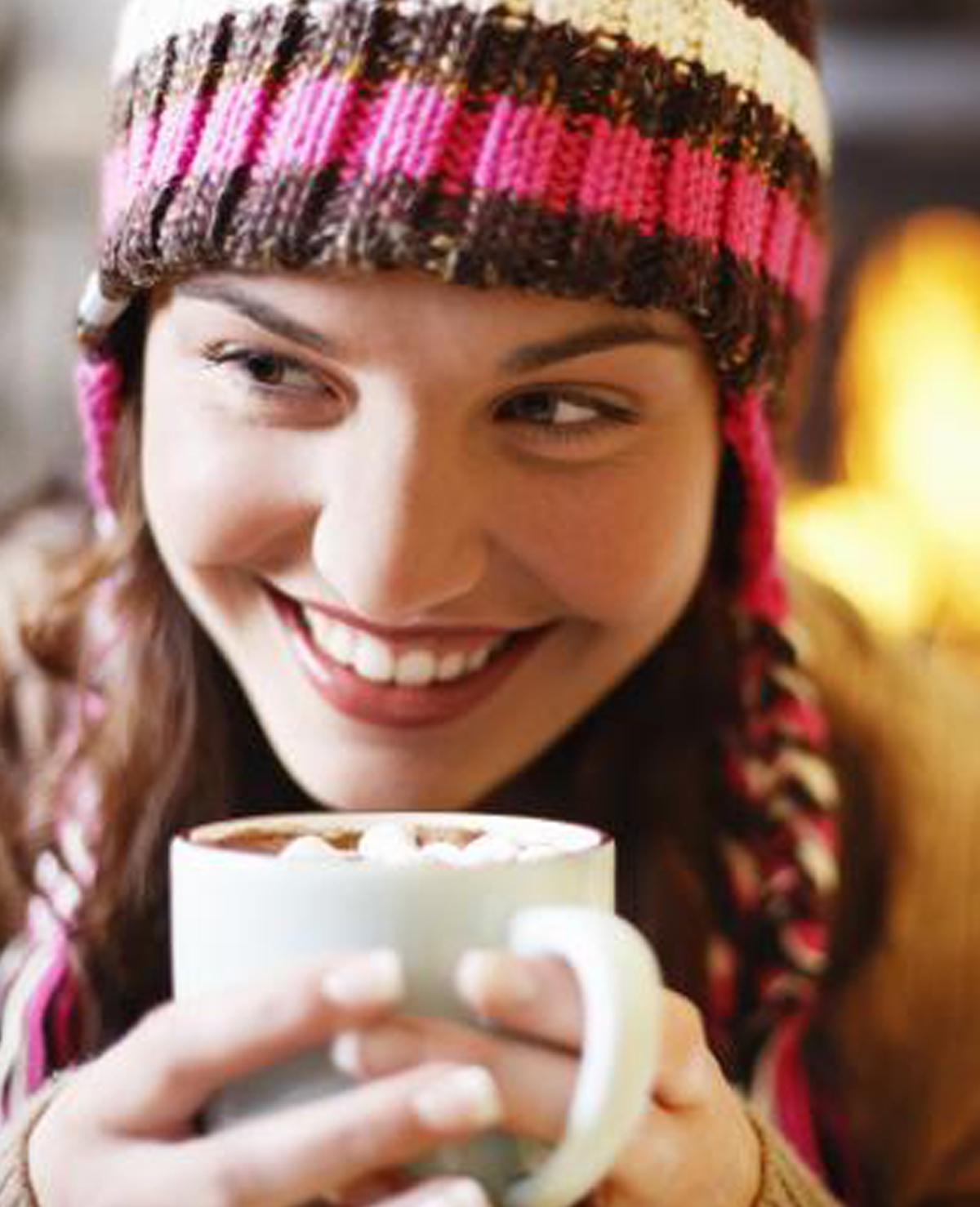 BEWEZEN: warme chocolademelk is gezond!