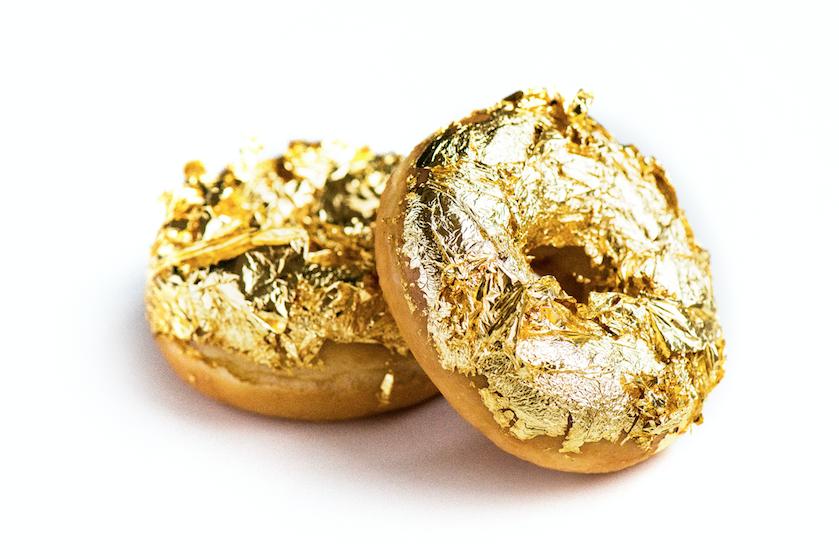 Uitpakken met de feestdagen? Dunkin' Donuts verkoopt nu écht gouden donuts