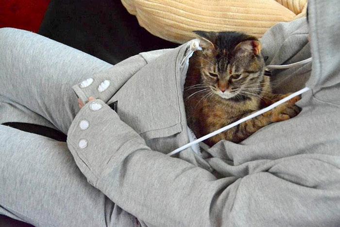 Goals: met deze buidel neem je jouw kat overal mee naartoe