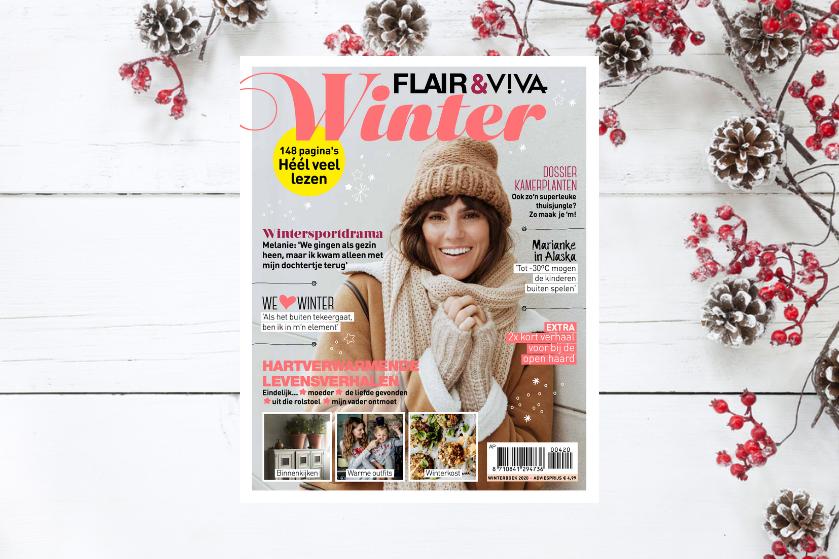Curl up on the couch! Shop nú het 'Flair Winterboek' voor het ultieme vermaak op de donkerste dagen