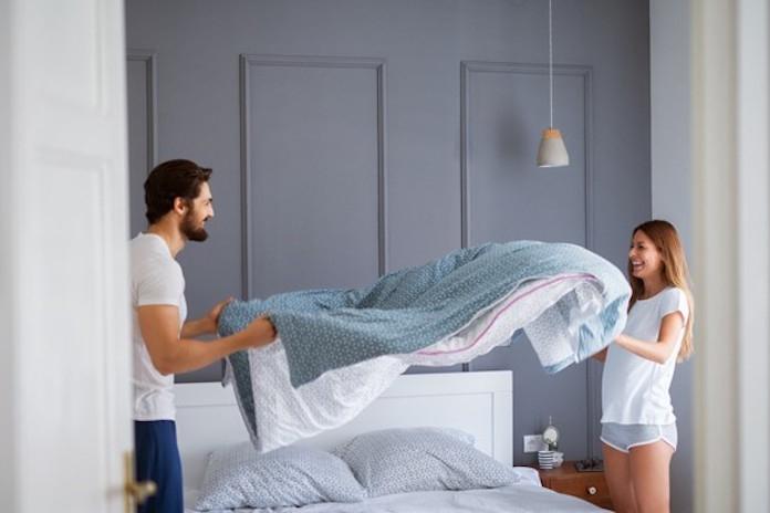 Eh, wat? Of je je bed opmaakt zegt blijkbaar iets over je seksleven