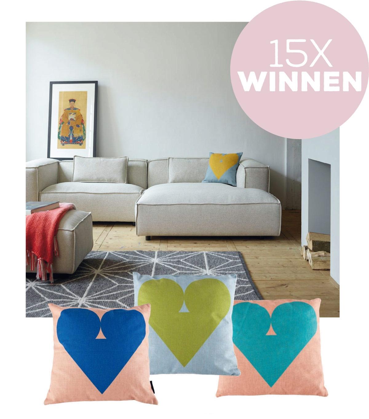 Winnen: 15x kussen van Fest Amsterdam