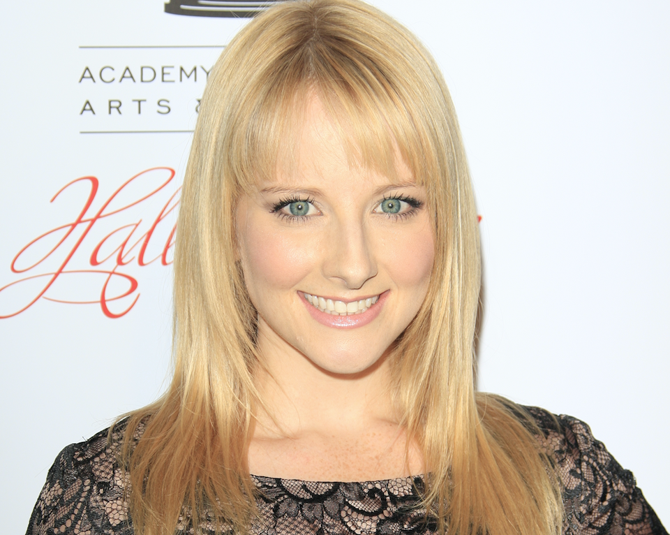 The Big Bang Theory-actrice Melissa Rauch is zwanger