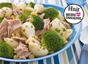 Pastasalade met broccoli