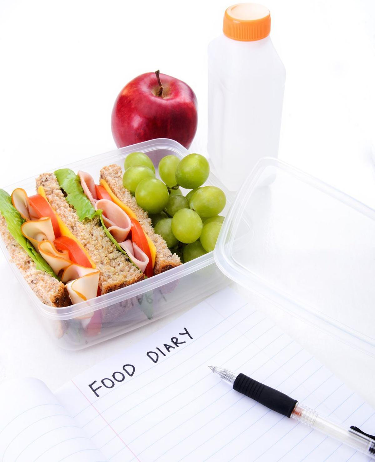Eibertje geeft tips op het eetdagboek van lezeres Wil