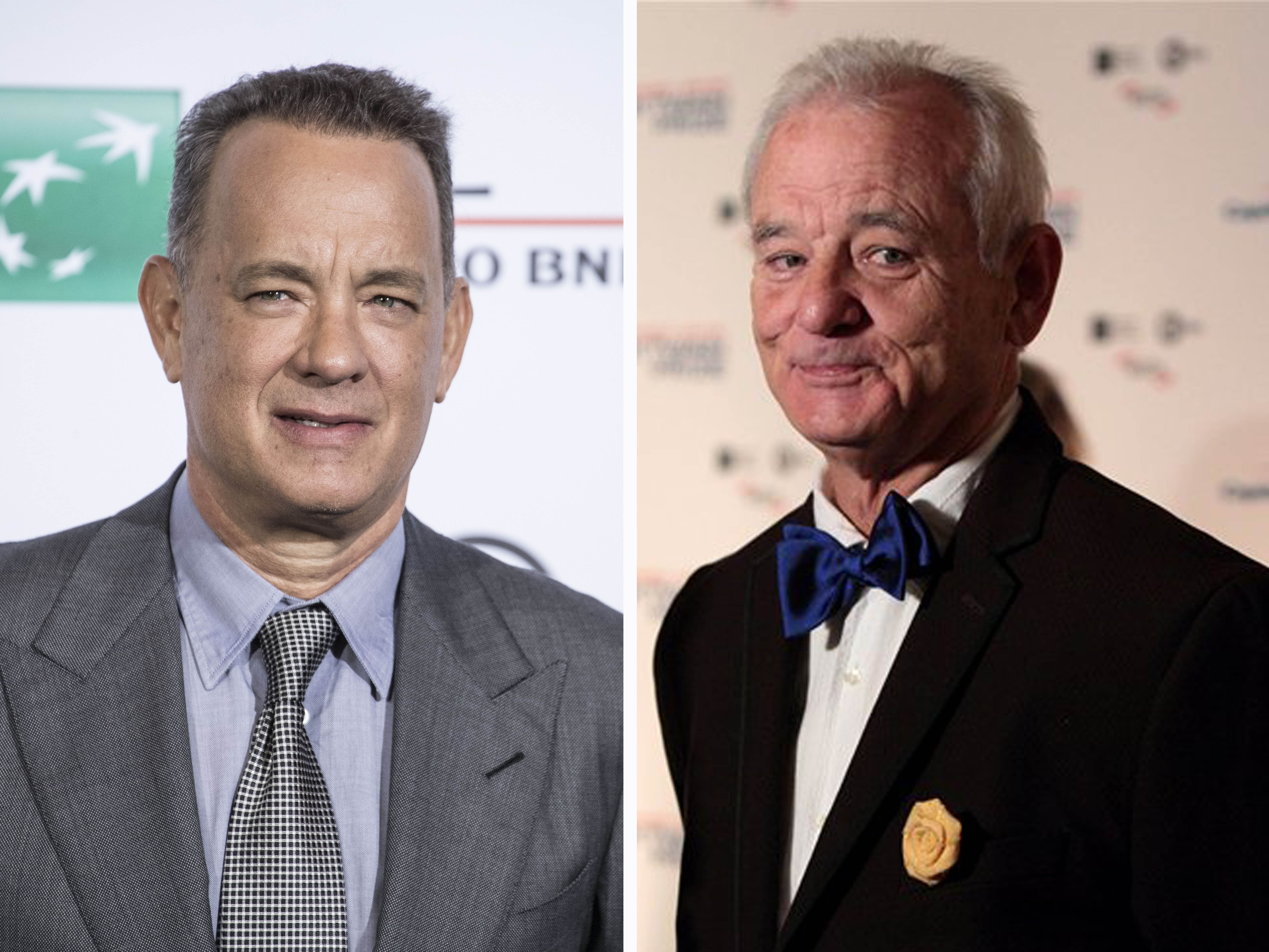 Verwarring alom: Is het Bill Murray of toch Tom Hanks?