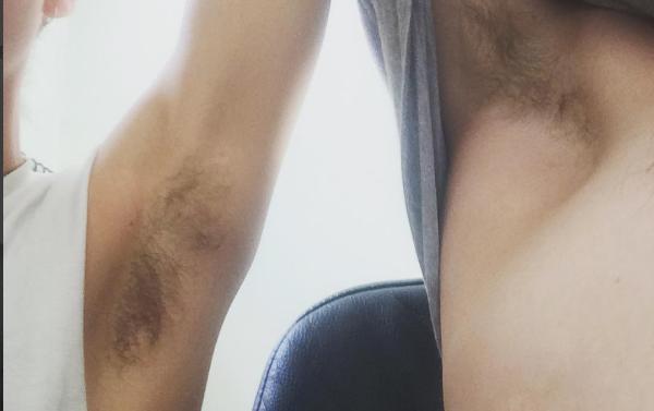Vrouwen laten massaal lichaamshaar staan voor 'Get Hairy February'