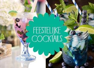 3 x feestelijke cocktails