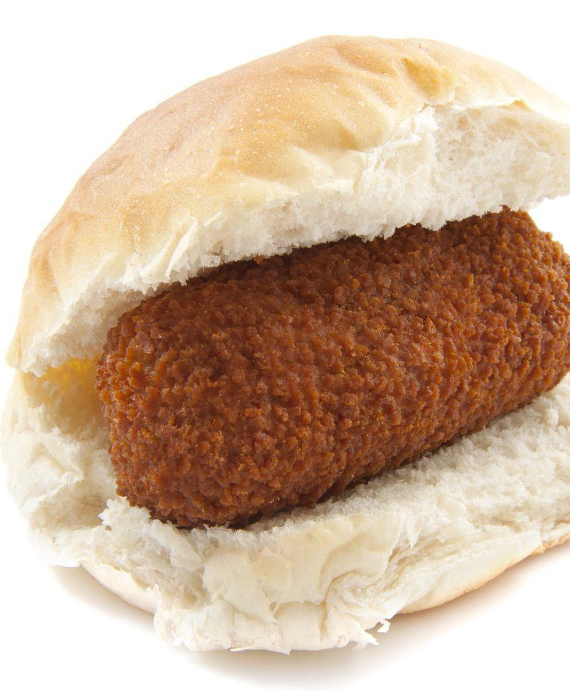 Is een broodje kroket gezonder dan een broodje kaas?