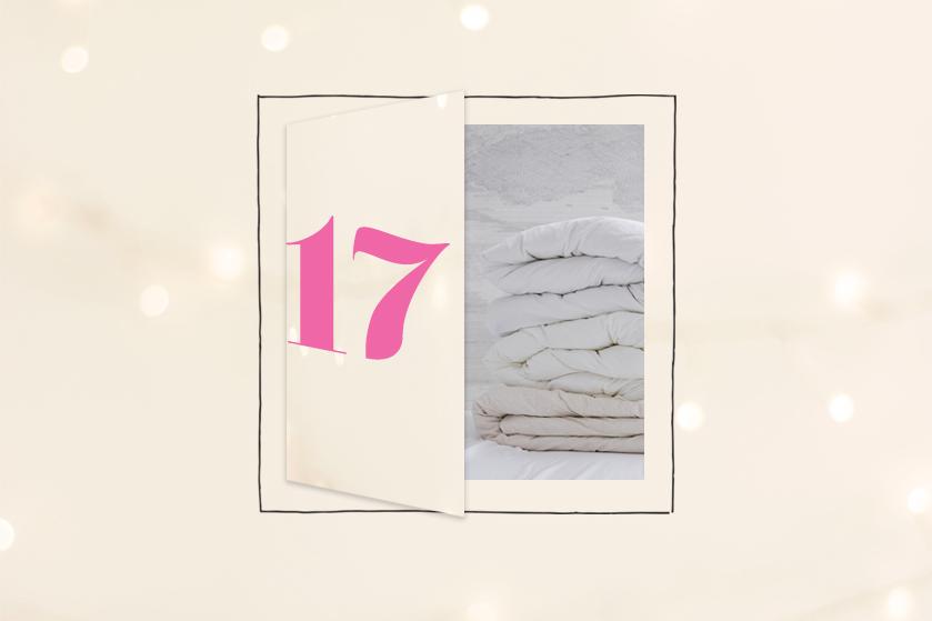 Flair's Adventskalender 2020 #17: win een wolkenzacht dekbed van Swiss Sense