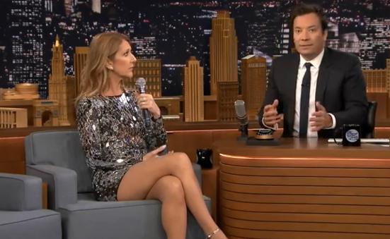 Wow! Celine Dion doet ongelofelijke goede imitaties van andere sterren