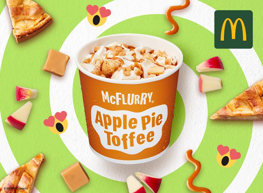 Mcflurry apple pie