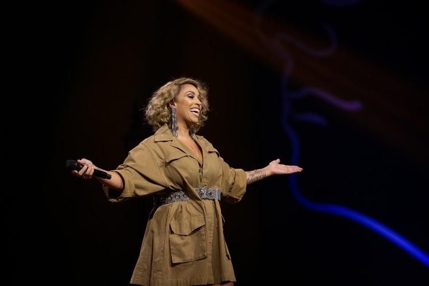Dromen komen uit voor Glennis Grace: zangeres is nieuwe coach bij 'The Voice of Holland'