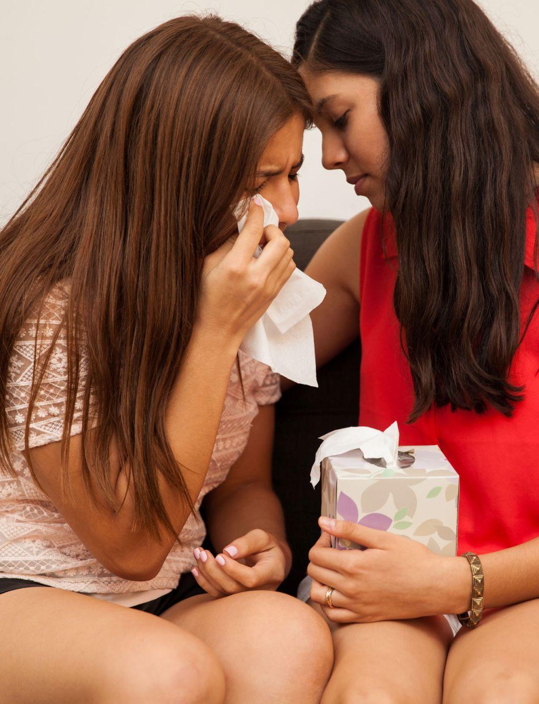 Zo troost je je vriendin met liefdesverdriet