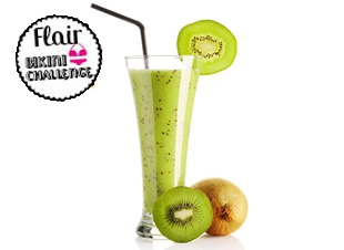 Gezonde havermout smoothie
