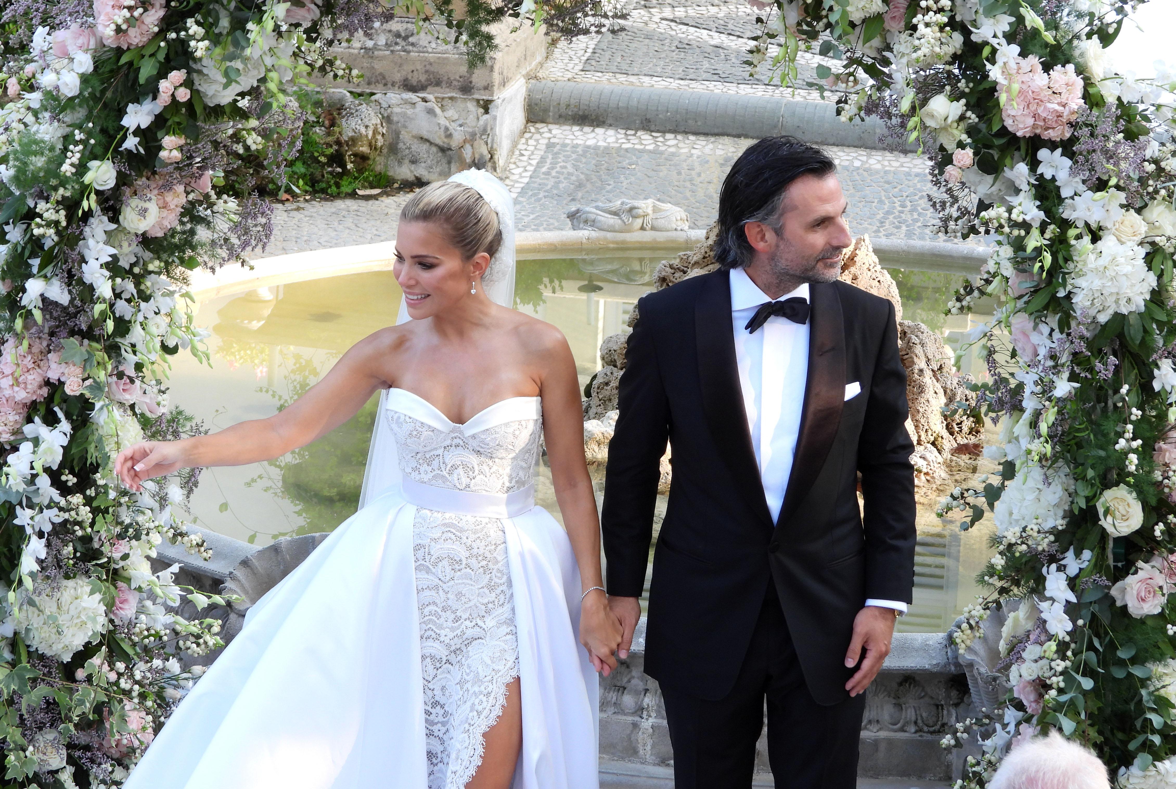 Sylvie Meis bruiloft