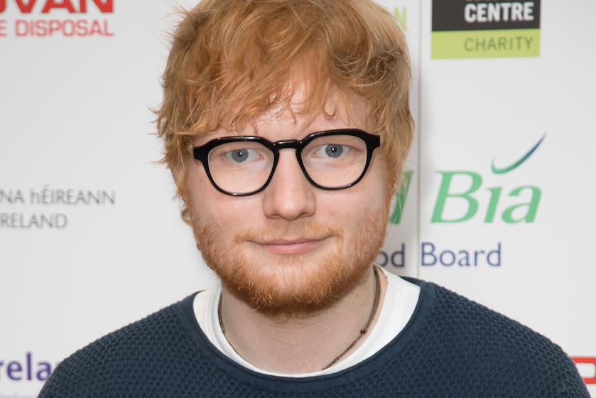 Biscuits with mice! Ed Sheeran is papa geworden en gaf z'n dochtertje déze bijzondere naam