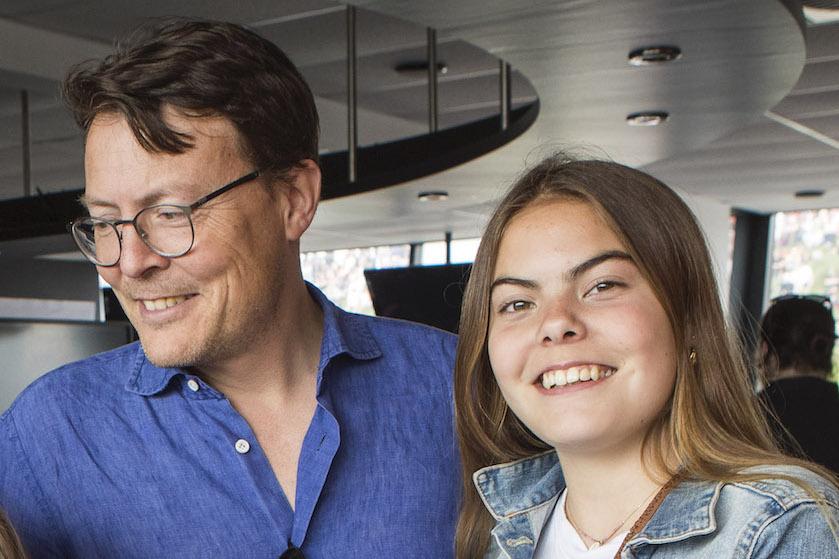 'Zucht…': Gravin Eloise deelt TikTok-filmpje met dansende Constantijn