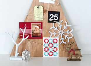Kerstkaartenboom maken