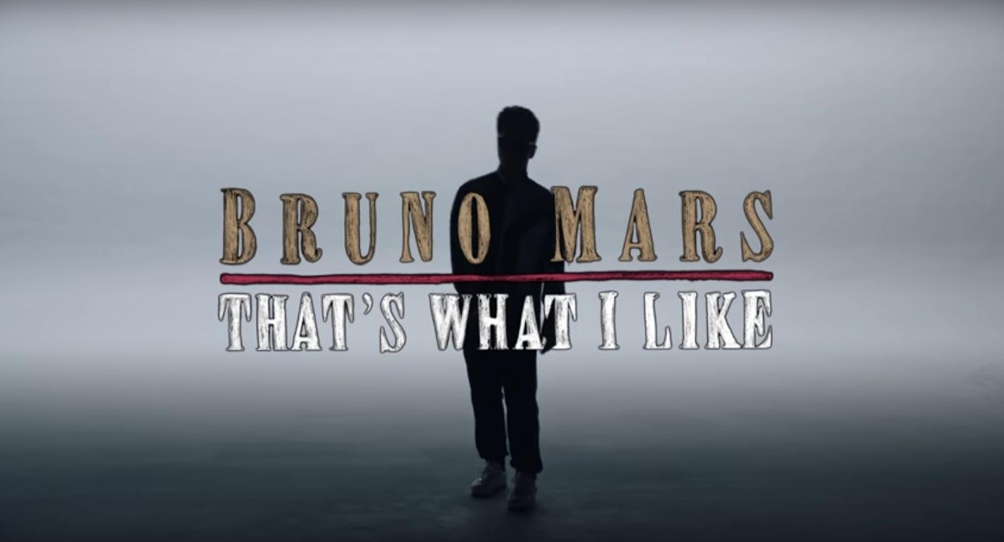 ZIEN: de video bij single 'That's What I Like' van Bruno Mars